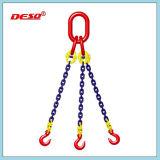 Imbragatura a catena di sollevamento di sicurezza del grado 80 con i piedini flessibili
