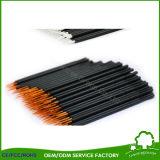 使い捨て可能で黒いファイバーのアイライナーのブラシの構成のブラシ