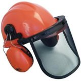 맨 위 마스크와 청각 보호 조합 장비 안전 제품