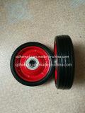 5 بوصة عجلة صلبة مطّاطة/لعبة مطاط عجلة