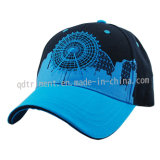 Bildschirmausdruck-Stickerei-Baumwoltwill-Golf-Sport-Schutzkappe (TMB0824)