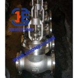 Robinet d'arrêt sphérique industriel de cheminée d'élévation d'acier inoxydable DIN