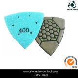 ConcreteまたはDry Polishing Padのための乾燥したTriangular Polishing Pads