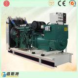 Fábrica ajustada de geração Diesel do motor 250kVA elétrico silencioso com GV