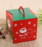 Zweiteiliger Papiergriff-Kasten für das Geschenk-Verpacken