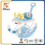 中国の卸売の揺り木馬機能プラスチック赤ん坊の歩行者