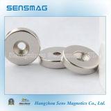 Мощные постоянные магниты кольца NdFeB неодимия для мотора