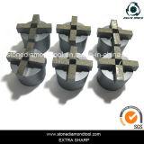 4つのセグメントTerrcoの具体的な研摩のダイヤモンドの粉砕のプラグ