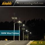 Sistema híbrido solar da luz de rua da fonte de alimentação do vento/(iluminação do diodo emissor de luz)
