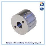 El CNC del acero inoxidable trabajó a máquina el borde con el final de anodización de plata