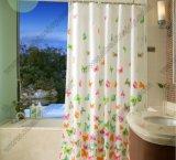 100%年のポリエステル印刷のシャワー・カーテン