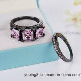 De roze Verlovingsring van de Luxe van de Boutique (plaats - 149)