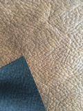 Tessuto della pelle scamosciata del tessuto di Microfiber con lo sguardo del cuoio (AN001)