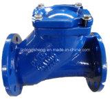 Clapet anti-retour Dn40-400 de boule de l'eau de fer de fonte