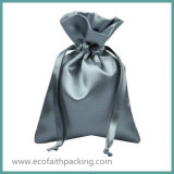 Qualitäts-Satindrawstring-Geschenk-Beutel-Polyester-Satin-Beutel