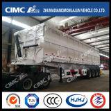 Cimc MiningサイトのためのHuajun 4axle 85cbmの側面Tipping Semi-Trailer