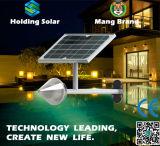 Luz psta solar da parede do diodo emissor de luz da energia verde para ao ar livre