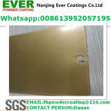 Pearl Gold Color Ral1036 Powder Coating Electrostatic Spray