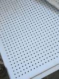 Panneau blanc de laines pour la protection contre les incendies acoustique et (600*600*250)
