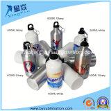 L'alluminio di sublimazione mette in mostra la bottiglia di acqua