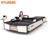 Наивысшая мощность 1000W 1500W 2000W голодает профессиональный автомат для резки лазера волокна стального листа углерода утюга