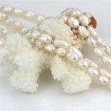 Langes Barock der Perlen-Halsketten-7mm AA 60 Zoll Perlen-Halsketten-Kostüm-Schmucksache-