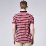 China T Shirt Fabricantes camisa de la raya de algodón 100 Polo para hombres