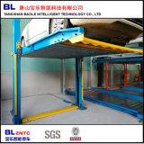 Système automatique de levage simple de stationnement d'ascenseur de véhicule de poste des Pjs deux