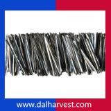 Aucune fibre en acier d'extrait magnétique de fonte pour moulable réfractaire renforcé