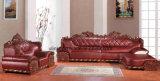 Sofá Home moderno da sala de visitas do canto do couro da mobília (UL-NSC099)
