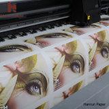 Высокоскоростная быстрая сухая бумага сублимации краски для перехода ткани полиэфира