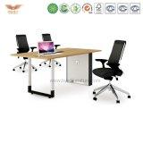 Самомоднейшая таблица конференции офисной мебели деревянная (H90-0304)