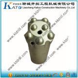 45mm R32 Hartmetall-gespitzter Gewinde-Tasten-Bohrmeißel