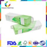 Чувствительная косметическая коробка упаковки бумаги цвета