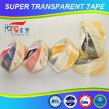 Cinta adhesiva de acrílico del embalaje de la base BOPP del agua
