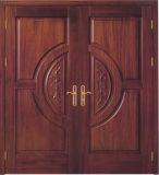 단단한 나무 문, 입구 문, 외부 문