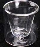 Tazza di tè della doppia parte inferiore e POT di vetro del tè