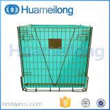 Штабелировать складную клетку сетки металла хранения Preform любимчика