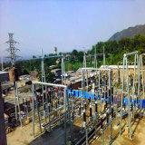 220のKvの鋼管の送電のサブステーションの構造