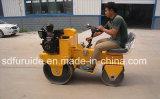 Rodillo de camino vibratorio automotor del tambor doble Fyl-850