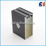 Profil d'aluminium de mur rideau de qualité/en aluminium appliqué