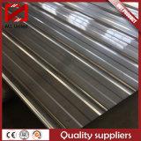 Feuille en acier de toiture en métal ondulé