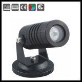 mini DMX luces del jardín del punto del control LED de 3W