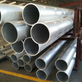 Tubo de aluminio rectangular sacado estándar 6060 T5