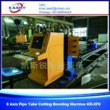 CNC van het roestvrij staal het Knipsel van de Pijp en Machine Beveling met het Knipsel van de Vlam van het Plasma