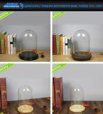 Cúpula de bolo de vidro artesanal OEM para decoração de férias