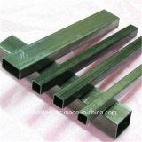 Pipe sans joint 410 de tube rectangulaire d'acier inoxydable 304 202
