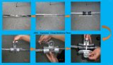 Aufhebung-Schelle für Überspannung des ADSS Kabel-150m