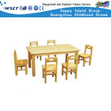 Kindergarten Furnitures Ensembles de table et de chaise en bois pour enfants (HC-2401)