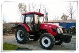 Trator de exploração agrícola do uso 110HP do trator de exploração agrícola para a venda